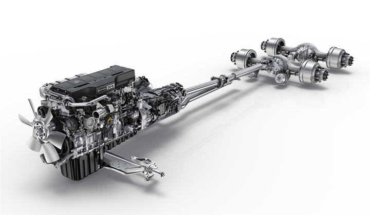Detroit s Integrated Powertrain is in version 4 and includes