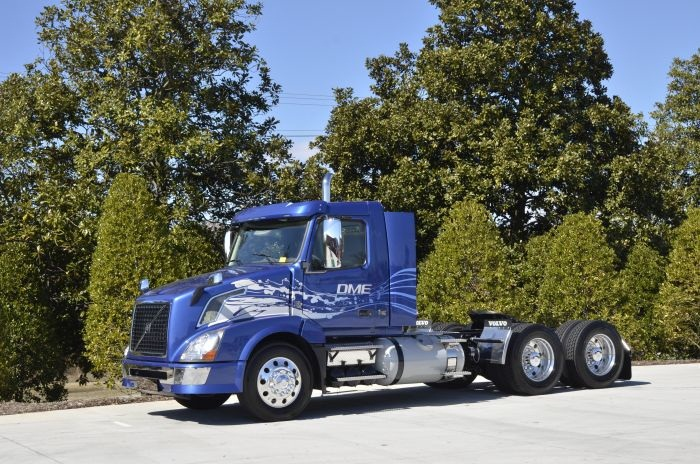 Volvo Trucks North America has put its work on a DME-powered truck on