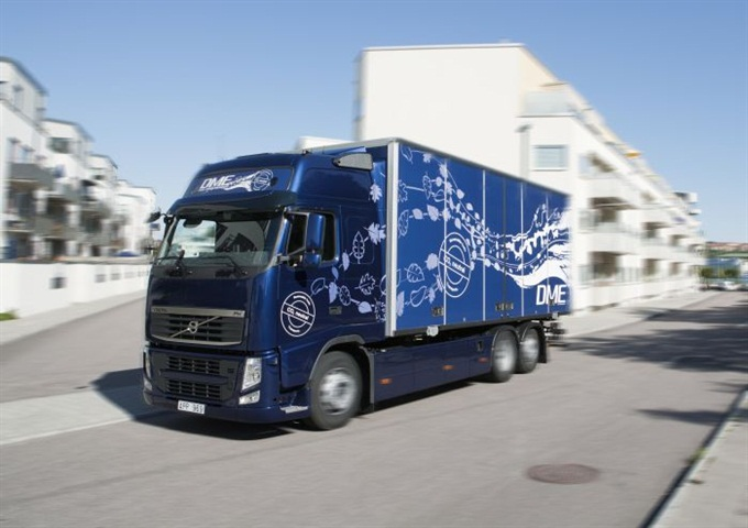 DME was one of a number of alternative fuels tested in Europe by Volvo