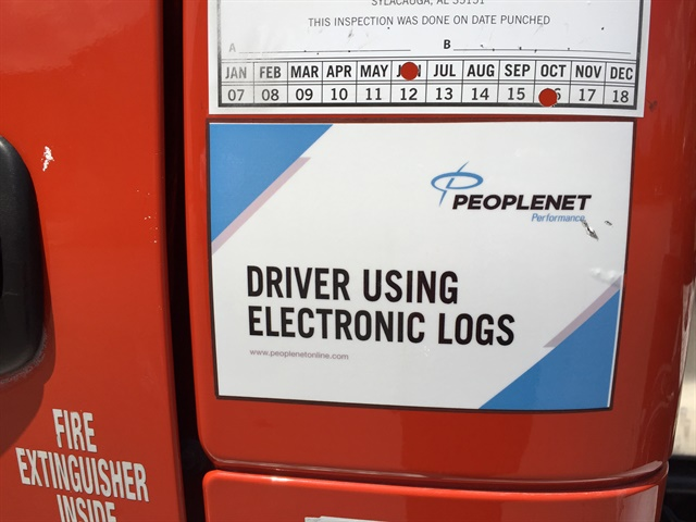 Fleets currently using e-logs meeting AOBRD requirements can keep