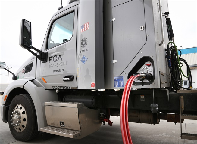 FCA Transport says its Detroit-based tractor fleet is converting
