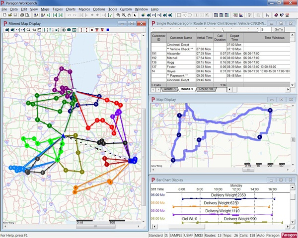 Efficient routing that reduces miles helps cut a fleet's costs