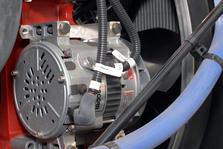 Heat is not an alternator's friend. Engineers spend a great deal