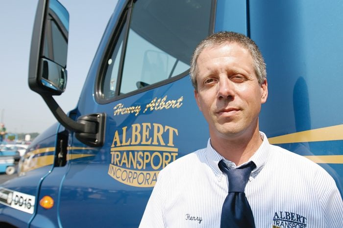 Henry Albert, veteran owner-operator from Mooresville, N.C., is