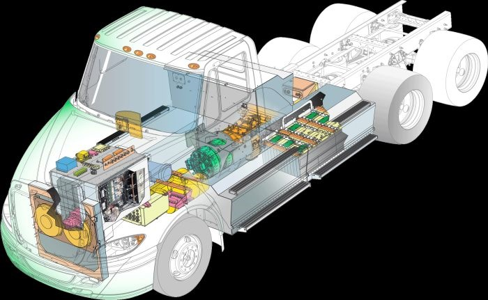 Peterbilt will test the feasibility of TransPower electric powertrains