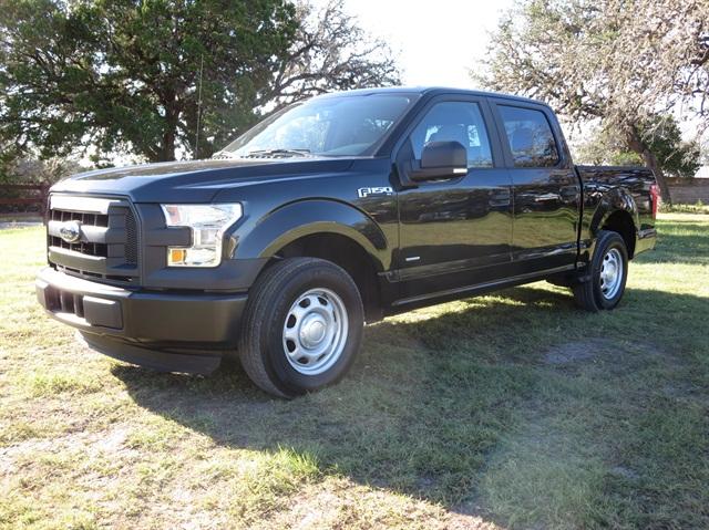 SuperCrew with XL trim looks plain, but it has metallic black paint,