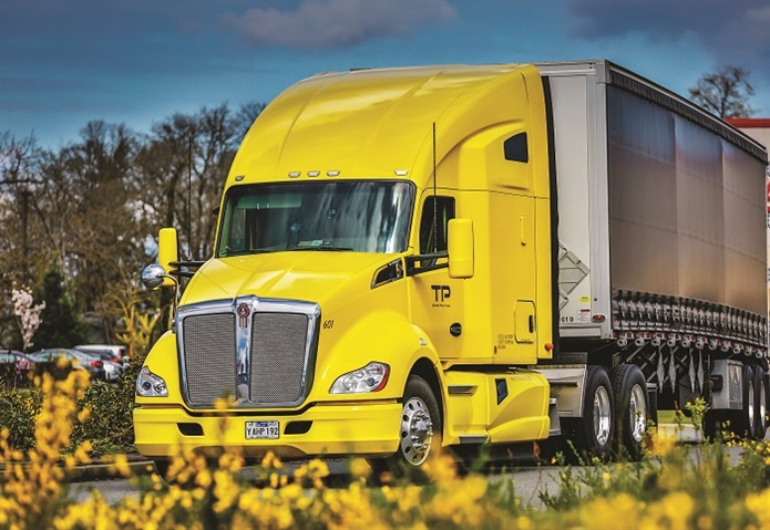 Kenworth's T680 is available with the proprietary Paccar