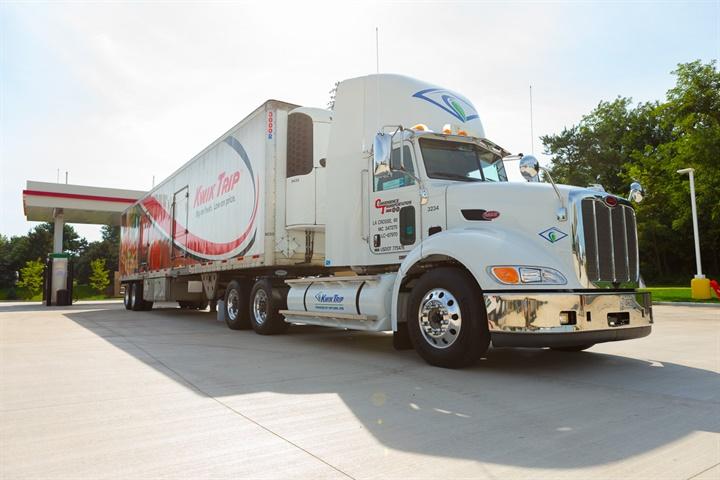 Many of Kwik Trip's heavy- and medium-duty trucks run on the