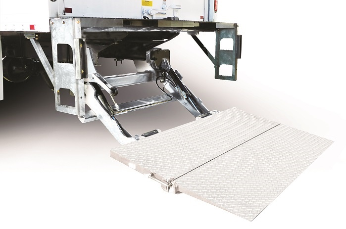 Galvanized steel, as in this liftgate from Maxon Lift, is one tactic