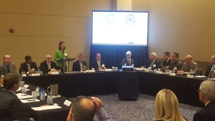 The roundtable discussion was hosted by the U.S. National Safety