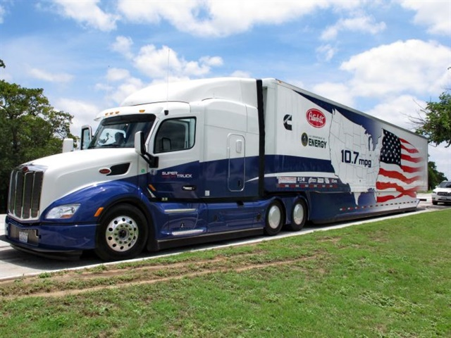 The Cummins/Peterbilt SuperTruck was the first project completed in