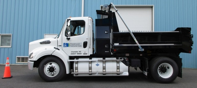 Piedmont Natural Gas utilizes compressed natural gas in its fleet of