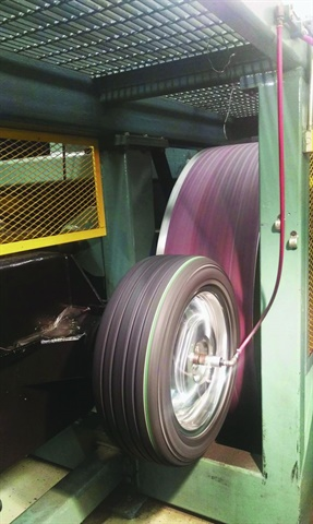 Machines such as this one used by Smithers Rapra, a third-party tire
