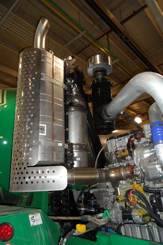 A 2013-model MTU 1300 engine includes electronic on-board diagnostics,