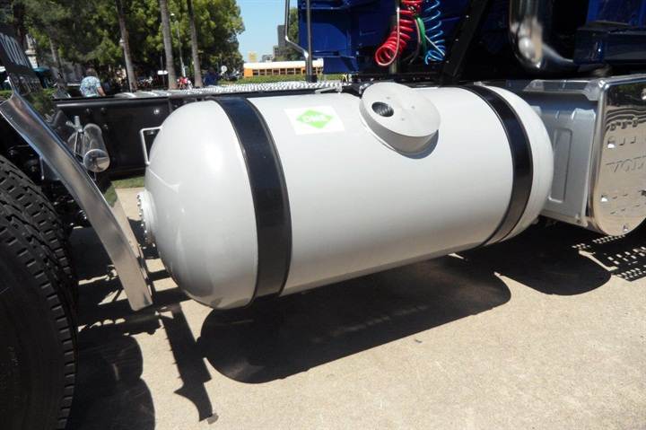 Steel DME fuel tank is the same as for propane. Modest storage