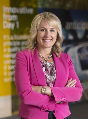Shelley Simpson. Photo courtesy Women in Trucking.