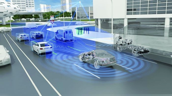 Trucks and cars alike are being designed with new sensing abilities