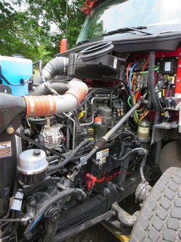 Like other modern diesels of its size, the 12.9-liter MX-13 makes