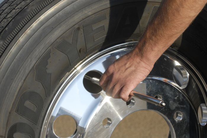 Establishing a daily inspection and pressure check program is an