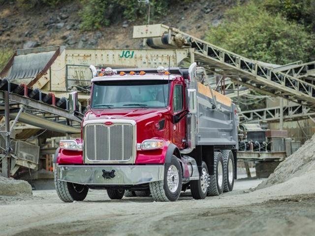 Dump trucks will also benefit from V2V technology, with trucks