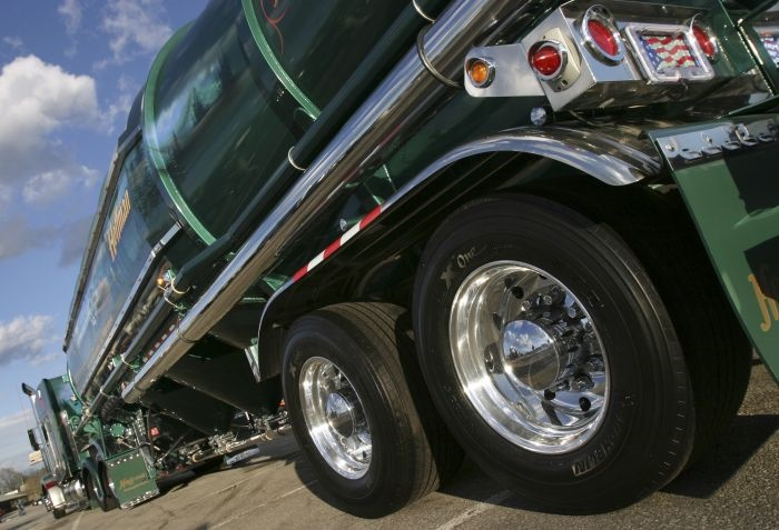 Once trailer tire wear begins, only corrective maintenance action will