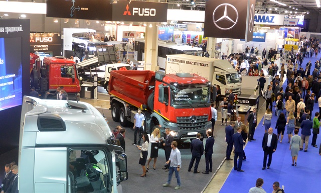 Daimler, which has a 15% stake in and a 50/50 joint venture with the Russian truck maker Kamaz, is aiming for higher market share in Russia.