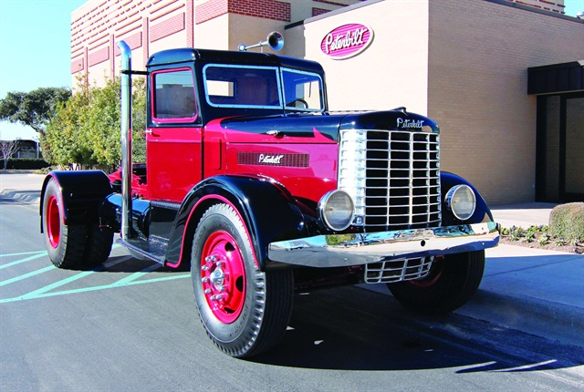 The story behind peterbilt s anniversary truck articles equipment articles - Pictures of old peterbilt trucks ...