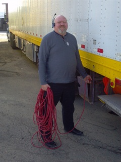 """The vast majority of owner-operators I know want power at truckstops,"" says Matt Purtree."