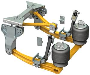 Kenworth Air Suspension For Heavy And Severe Duty