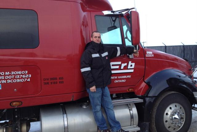 Gaston Töpfer, a long-haul driver with Erb Transport, participated in TCA's second Trucking's Weight Loss Showdown. Here are photos of him before and after his weight loss journey.