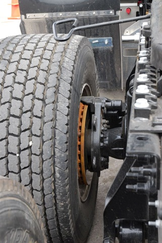 Due to their exposed position, rotors can be damaged by sand and grit from off-road conditions and winter road-clearing materials.