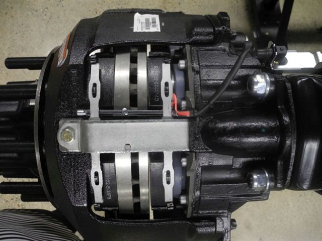 Reduce your maintenance burden with air disc brakes