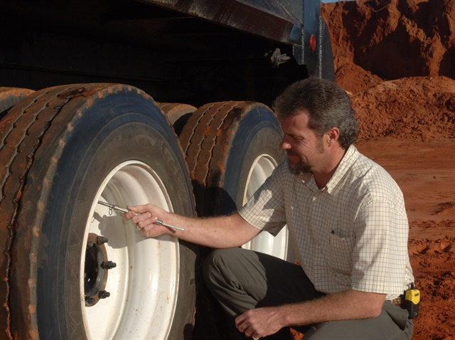 Stay on top of tire inflation and most of your roadside failures will disappear. Photo from Goodyear.