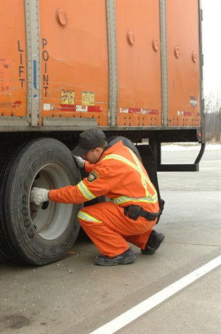 Inspectors wrote more than 30,000 violations for under-inflated tires over a two-year period. Photo by Jim Park