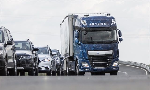 More power and increased safety and comfort seem to be the marching orders for OEMs and suppliers developing the next generation of heavy-duty AMTs. The Innovation Truck, unveiled last year, is a concept vehicle proving out these features for ZF. Photo: ZF