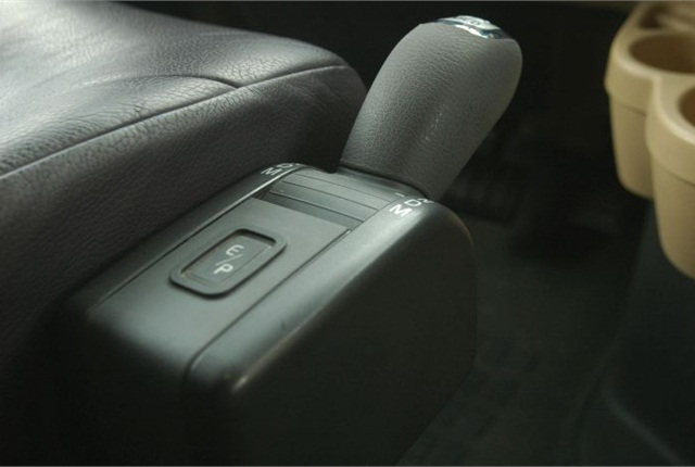 Volvo was not the first to use a seat-side driver interface, but it placed the transmission controls in a familiar place.