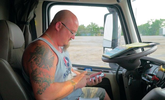 Trucker Path, San Jose, Calif., recently added load matching features to its lineup of mobile apps. The company introduced a trip planning app in 2013. Photo: Trucker Path