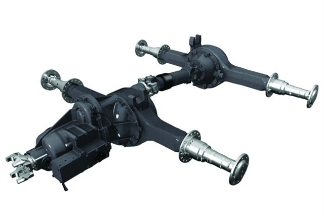 Dana Spicer's AdvanTek 40 Dual Range Disconnect axle system lets you run as a 6x4 and a 6x2, leveraging all the benefits both options offer.