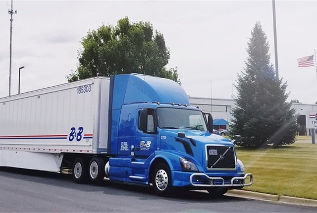 B&B Trucking is leaving no stone unturned in its quest for fuel efficiency, including testing an automatic gap-closing system.