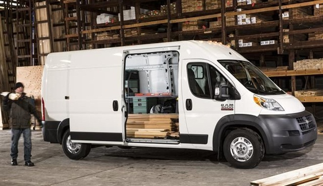 ProMaster's front-wheel drive is unique to full-size Eurovans sold in North America. It's gaining a hold in the market, Ram executives say.
