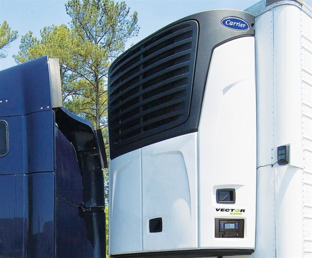 Carrier's next refrigerant will be carbon dioxide, which is very safe as a cooling compound even if environmental authorities blame CO2 for helping cause Climate Change. Photo: Carrier Transicold