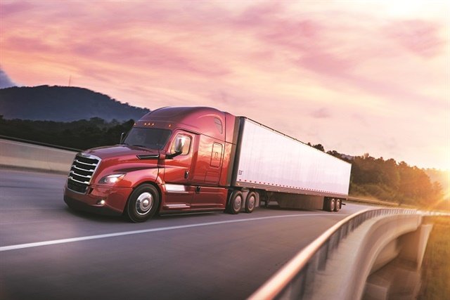 The latest enhancements to Freightliner's new Cascadia include 48-, 60- and 72-inch mid-roof XT sleeper cabs in both 116- and 126-inch BBC platforms.