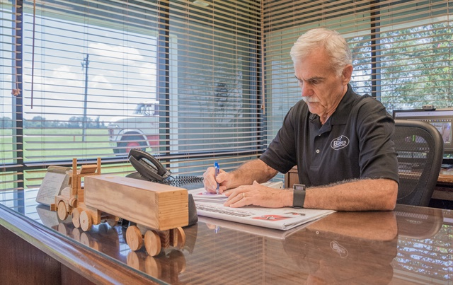 Kilpatrick brings more than 40 years in fleet management to the Alabama Trucking Associaiton. Photo by Corey McDonald