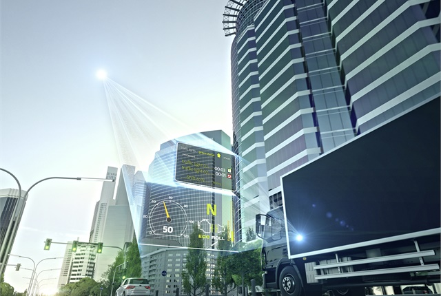 Dynamic eHorizon is seen as a step toward autonomous vehicles as well as a way to improve safety and efficiency today.