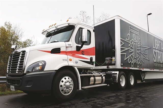 We tested our X12 in a Cascadia daycab on Interstate and two-lane highways in Western New York, near Cummins' Jamestown plant. Photos: Jim Park