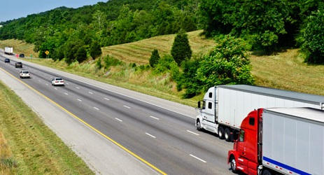 Direct drive transmissions are well suited to relatively flat on-highway applications. Photo: Eaton