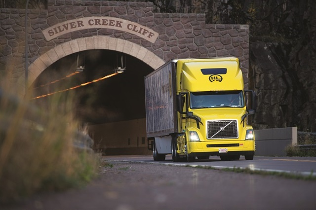 "Halvor Lines, which boasts a driver turnover rate of 38.5% and low CSA scores, has ""evolved"" its training approach by going beyond hands-on instruction to incorporate online learning technology. Photo: Halvor Lines"