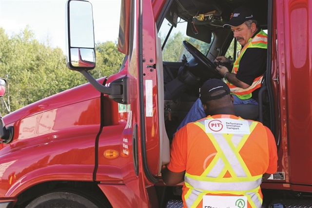 Studies by PIT Group show that providing refresher training and coaching via in-vehicle technology is needed to maintain and improve driver performance over time. Photo: Pit Group