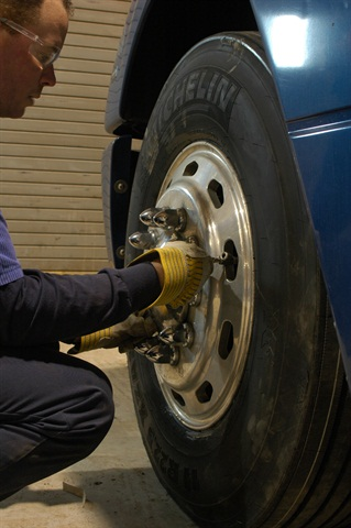 Regular inflation checks go far toward preventing blowouts and improving tire life and fuel economy. Photo by Jim Park