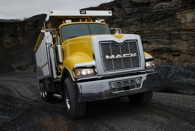 Dump trucks have always been tough. But today, they're getting increasingly smarter as well. Photo: Mack